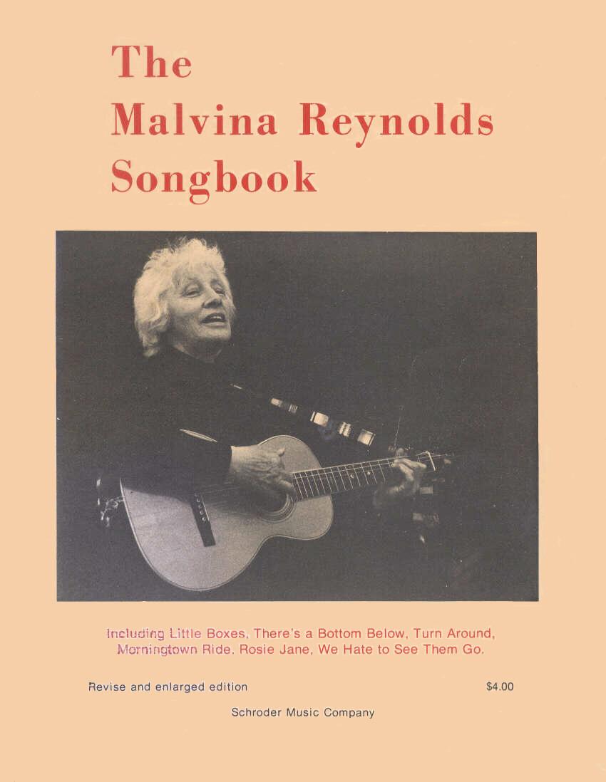 malvina reynolds songbooks