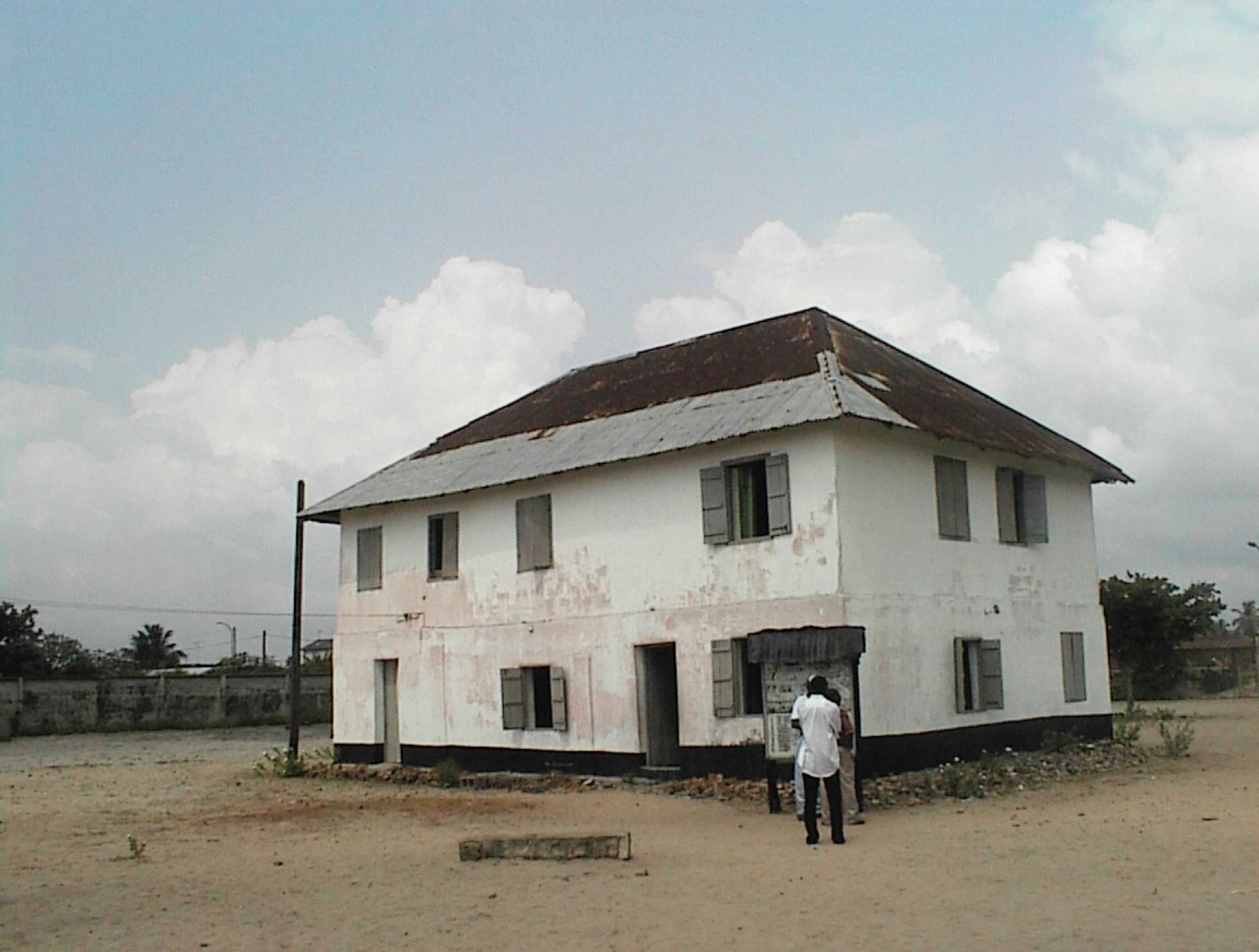 Image result for First building in Lagos