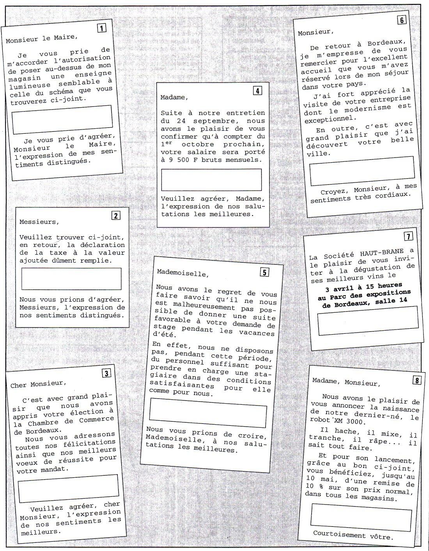 f331 french business le fran ais des affaires Simple Academic Resume Undergrad Example 60