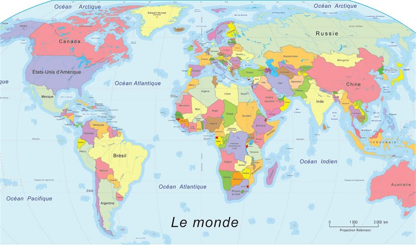pays francophones